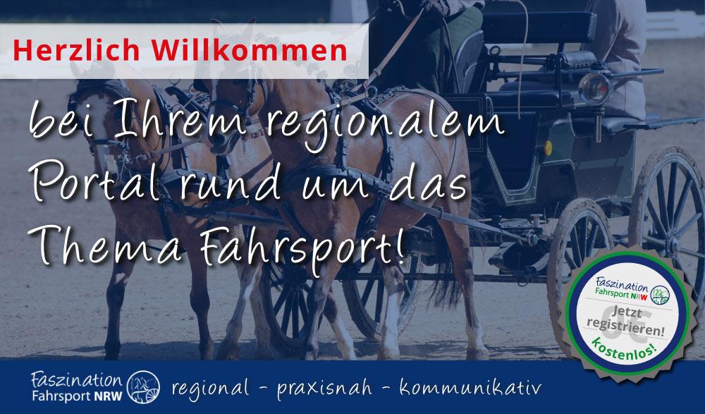 Herzlich Willkommen bei FahrsportNRW!