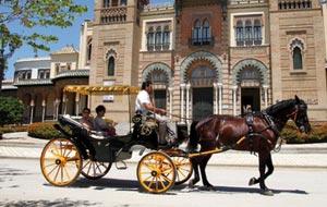 Urlaub mit Pferd & Wagen
